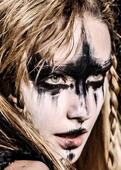 Witch-Halloween-Make-Up-Looks-For-Girls-Women-2019-10