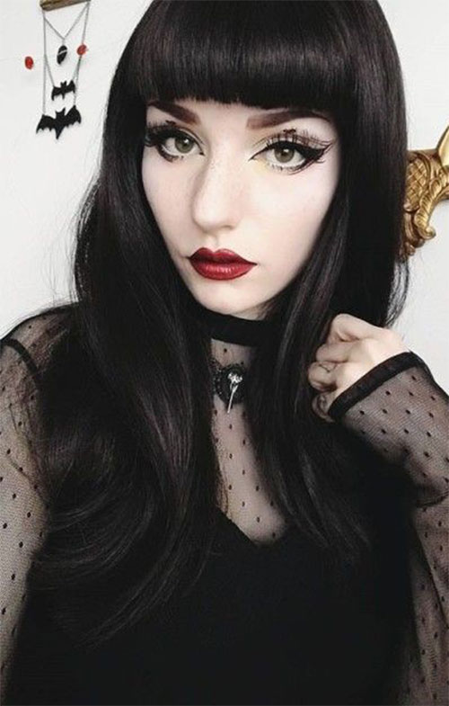 Witch-Halloween-Make-Up-Looks-For-Girls-Women-2019-6