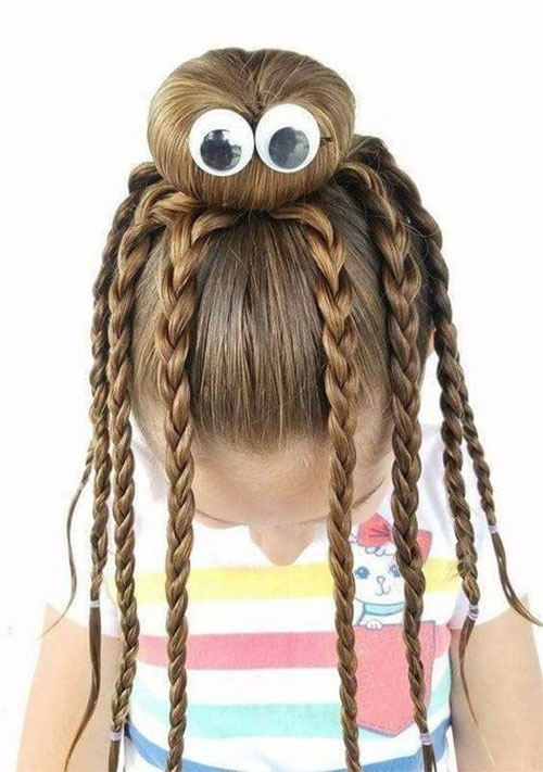 Halloween-Hairstyles-For-Kids-Girls-2019-Hair-Ideas-2