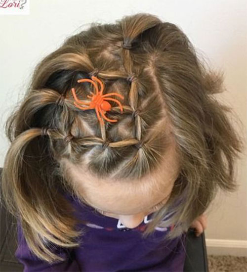 Halloween-Hairstyles-For-Kids-Girls-2019-Hair-Ideas-4