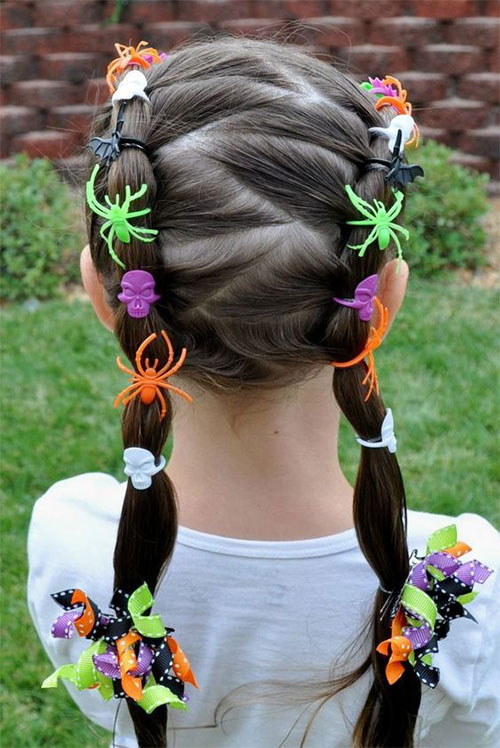 Halloween-Hairstyles-For-Kids-Girls-2019-Hair-Ideas-6