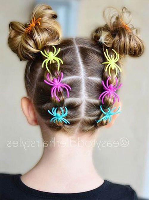 Halloween-Hairstyles-For-Kids-Girls-2019-Hair-Ideas-8