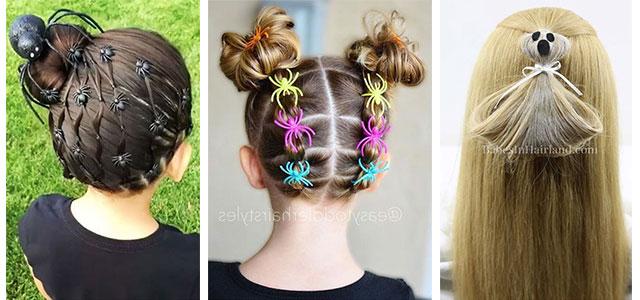Halloween-Hairstyles-For-Kids-Girls-2019-Hair-Ideas-F