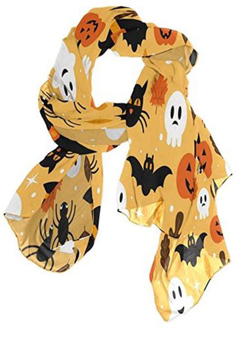 Halloween-Scarves-For-Girls-Women-2019-Halloween-Scarf-Ideas-1