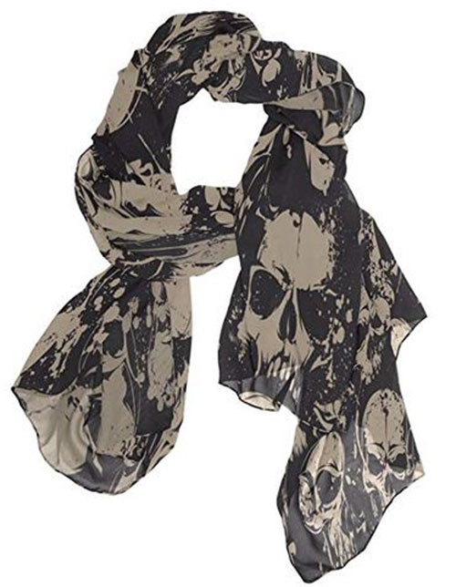 Halloween-Scarves-For-Girls-Women-2019-Halloween-Scarf-Ideas-4