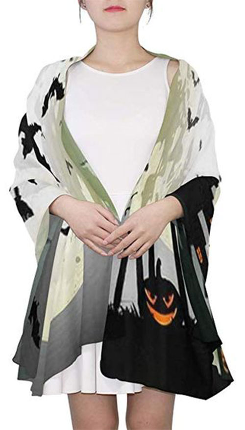 Halloween-Scarves-For-Girls-Women-2019-Halloween-Scarf-Ideas-9