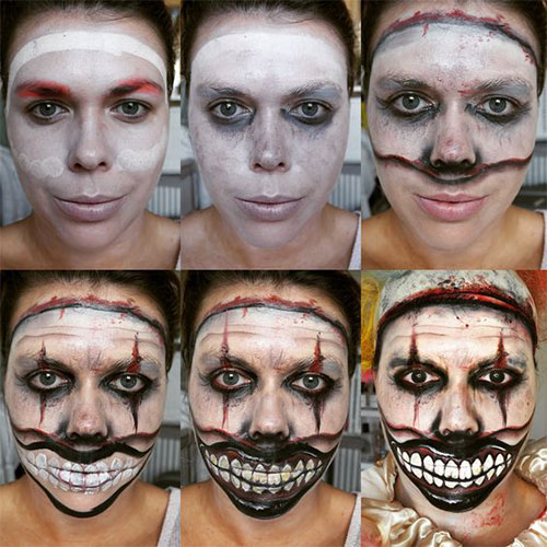 Step-By-Step-Halloween-Makeup-Tutorials-For-Beginners-2019-1