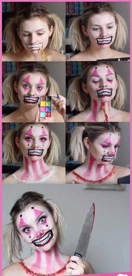 Step-By-Step-Halloween-Makeup-Tutorials-For-Beginners-2019-17