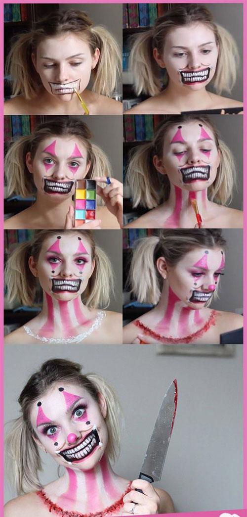 Step-By-Step-Halloween-Makeup-Tutorials-For-Beginners-2019-17