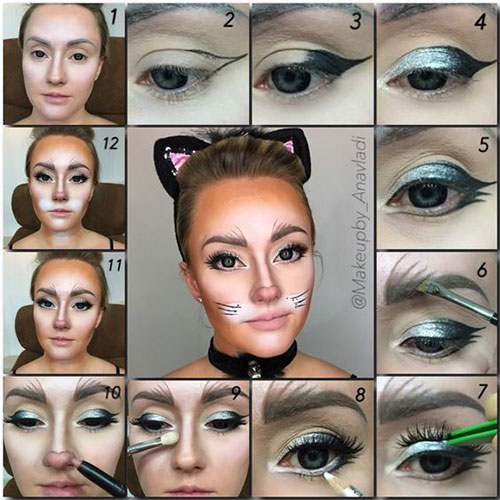 Step-By-Step-Halloween-Makeup-Tutorials-For-Beginners-2019-3