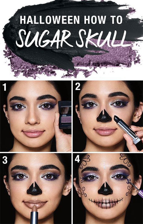 Step-By-Step-Halloween-Makeup-Tutorials-For-Beginners-2019-5
