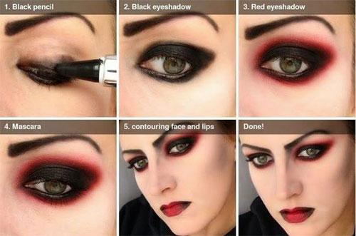 Step-By-Step-Halloween-Makeup-Tutorials-For-Beginners-2019-7