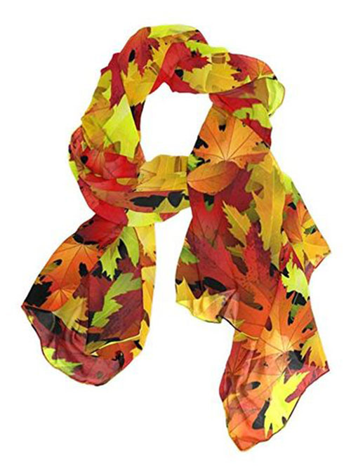 Best-Autumn-Leaves-Scarves-Women-2019-Scarf-Collection-10