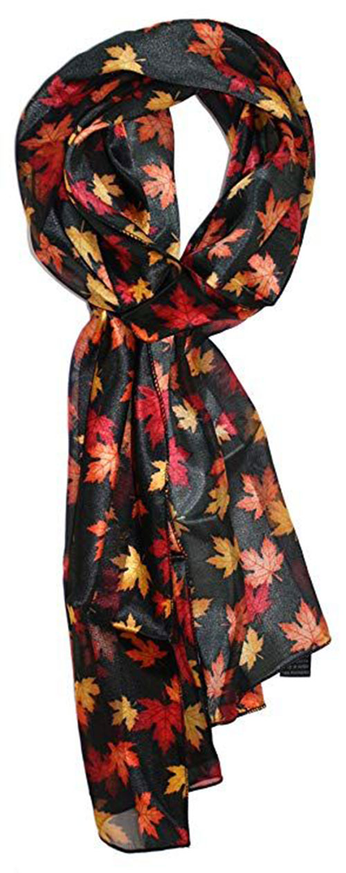 Best-Autumn-Leaves-Scarves-Women-2019-Scarf-Collection-7