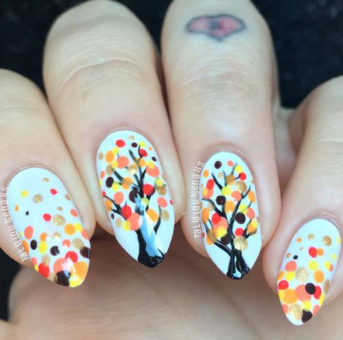 Best-Autumn-Nails-Art-Designs-Ideas-2019-1