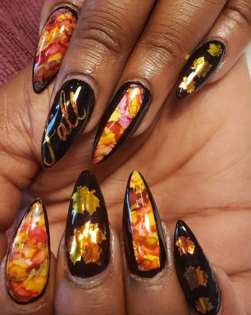 Best-Autumn-Nails-Art-Designs-Ideas-2019-11