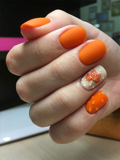 Best-Autumn-Nails-Art-Designs-Ideas-2019-19