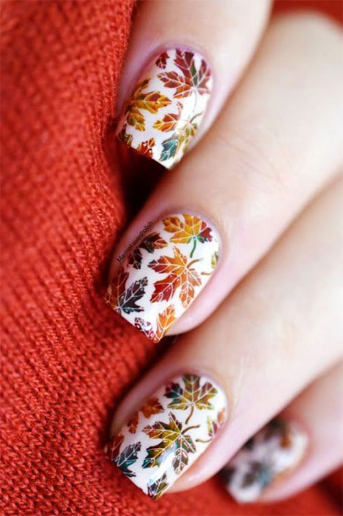 Best-Autumn-Nails-Art-Designs-Ideas-2019-6