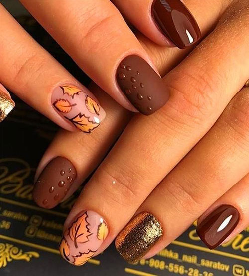 Best-Autumn-Nails-Art-Designs-Ideas-2019-9