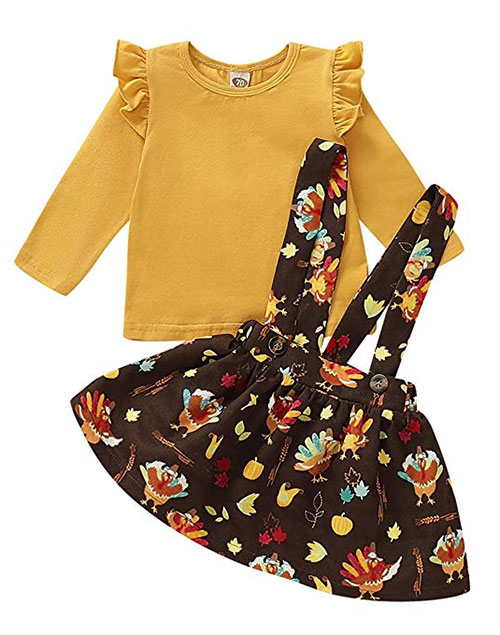 Cute-Happy-Thanksgiving-Outfit-For-Kids-Girls-2019-8