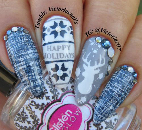 30-Christmas-Nail-Art-Designs-Ideas-2019-Xmas-Nails-1