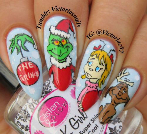 30-Christmas-Nail-Art-Designs-Ideas-2019-Xmas-Nails-15