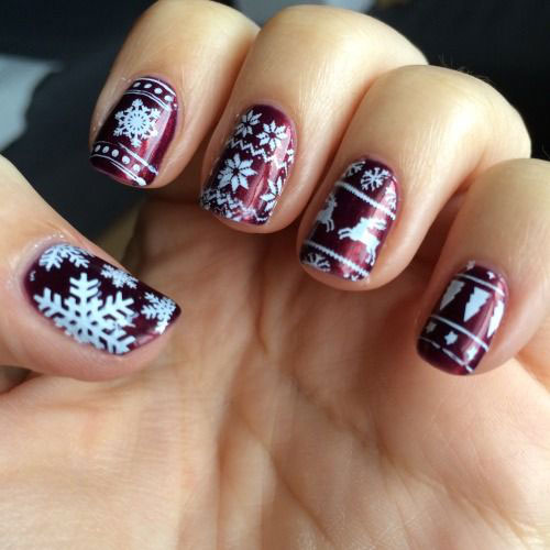 30-Christmas-Nail-Art-Designs-Ideas-2019-Xmas-Nails-23