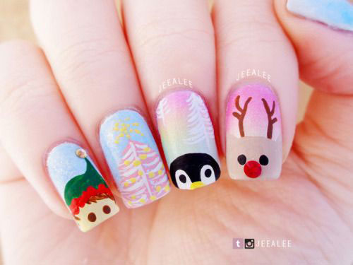 30-Christmas-Nail-Art-Designs-Ideas-2019-Xmas-Nails-28