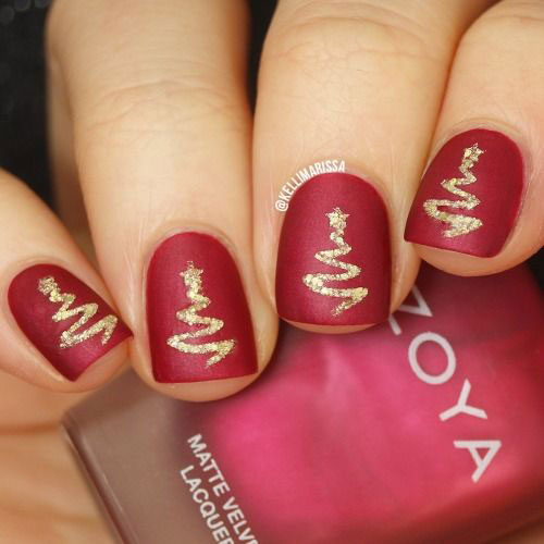 30-Christmas-Nail-Art-Designs-Ideas-2019-Xmas-Nails-5