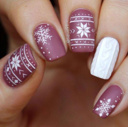 30-Christmas-Nail-Art-Designs-Ideas-2019-Xmas-Nails-7