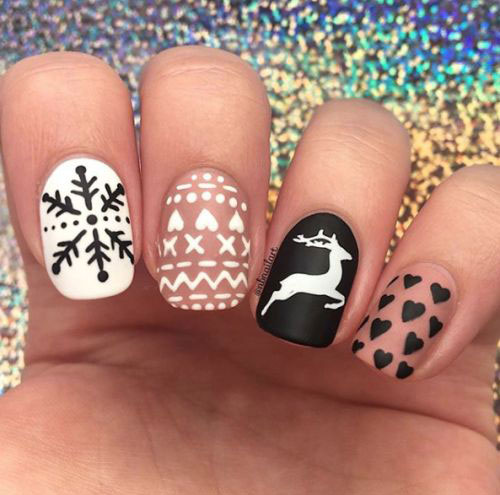 30-Christmas-Nail-Art-Designs-Ideas-2019-Xmas-Nails-8