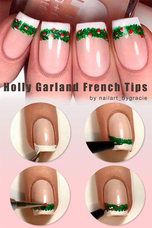 Christmas-Nail-Art-Tutorials-For-Beginners-Learners-2019-14