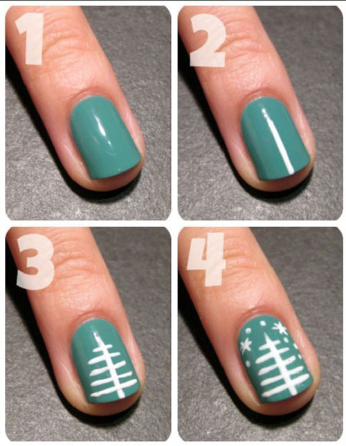 Christmas-Nail-Art-Tutorials-For-Beginners-Learners-2019-15