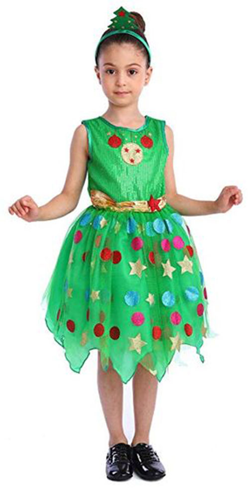 Christmas-Tree-Costumes-Outfits-For-Kids-Adults-2019-5
