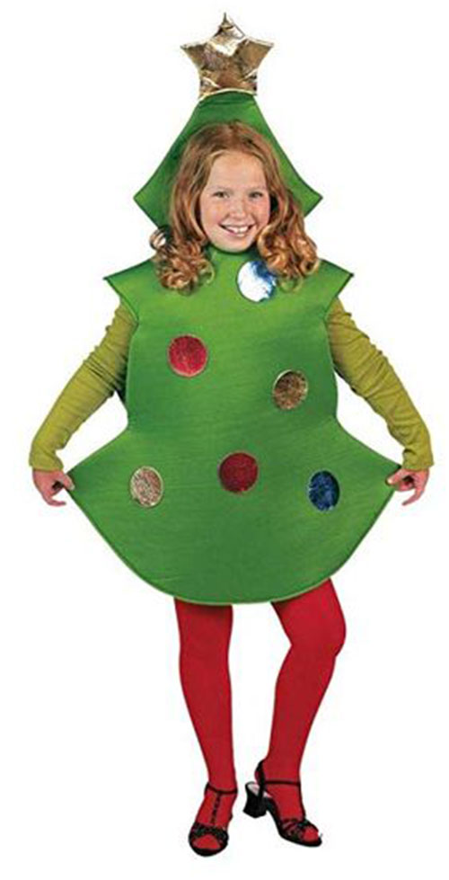 Christmas-Tree-Costumes-Outfits-For-Kids-Adults-2019-6