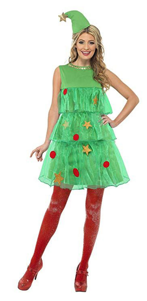 Christmas-Tree-Costumes-Outfits-For-Kids-Adults-2019-8