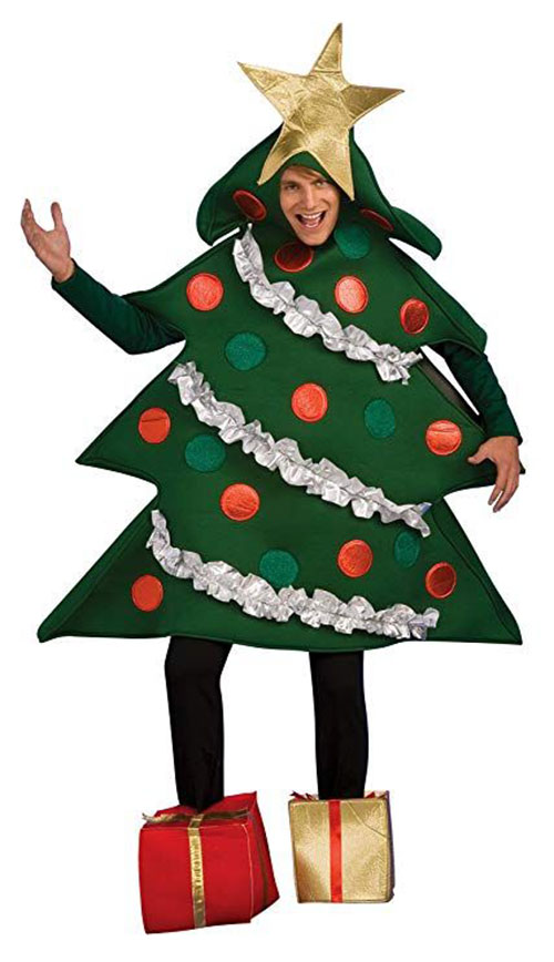 Christmas-Tree-Costumes-Outfits-For-Kids-Adults-2019-9