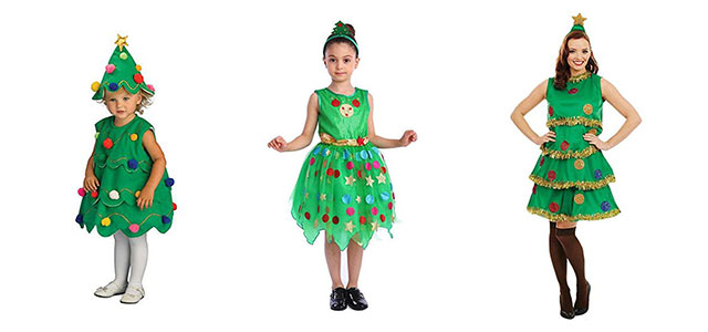 Christmas-Tree-Costumes-Outfits-For-Kids-Adults-2019-F
