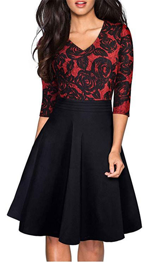 Stunning-Christmas-Party-Dresses-Outfits-2019-Xmas-Party-Dresses-12