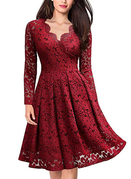Stunning-Christmas-Party-Dresses-Outfits-2019-Xmas-Party-Dresses-7