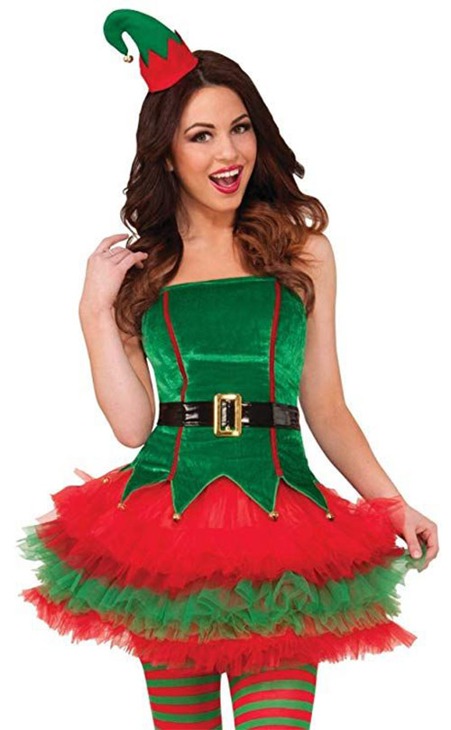 Christmas-Elf-Costumes-Outfits-For-Kids-Adults-2019-10