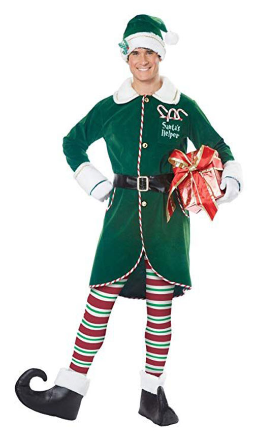 Christmas-Elf-Costumes-Outfits-For-Kids-Adults-2019-11