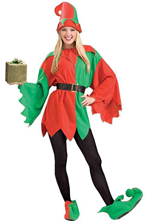 Christmas-Elf-Costumes-Outfits-For-Kids-Adults-2019-12