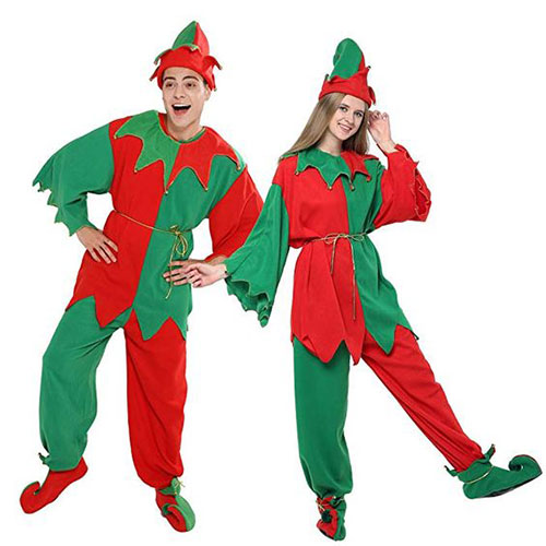 Christmas-Elf-Costumes-Outfits-For-Kids-Adults-2019-14