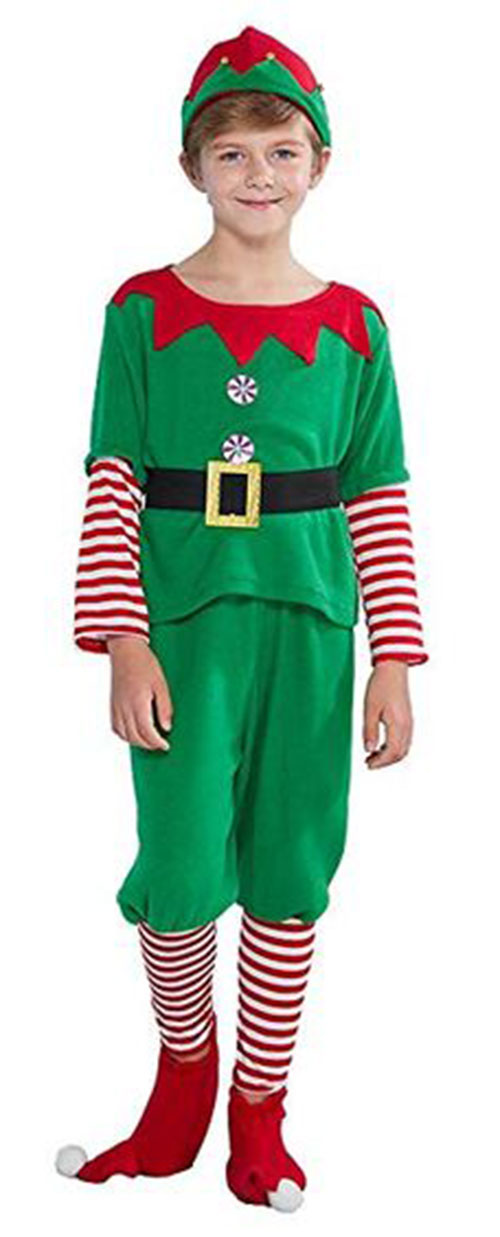 Christmas-Elf-Costumes-Outfits-For-Kids-Adults-2019-3