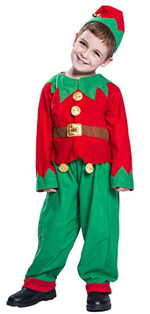 Christmas-Elf-Costumes-Outfits-For-Kids-Adults-2019-4