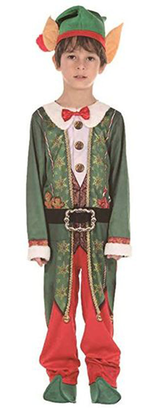 Christmas-Elf-Costumes-Outfits-For-Kids-Adults-2019-5