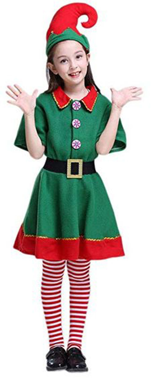 Christmas-Elf-Costumes-Outfits-For-Kids-Adults-2019-6