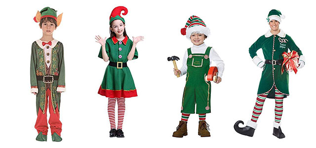 Christmas-Elf-Costumes-Outfits-For-Kids-Adults-2019-F