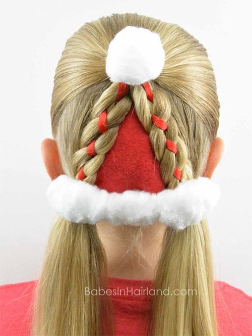 Christmas-Themed-Hairstyle-Ideas-For-Short-Long-Hair-2019-11